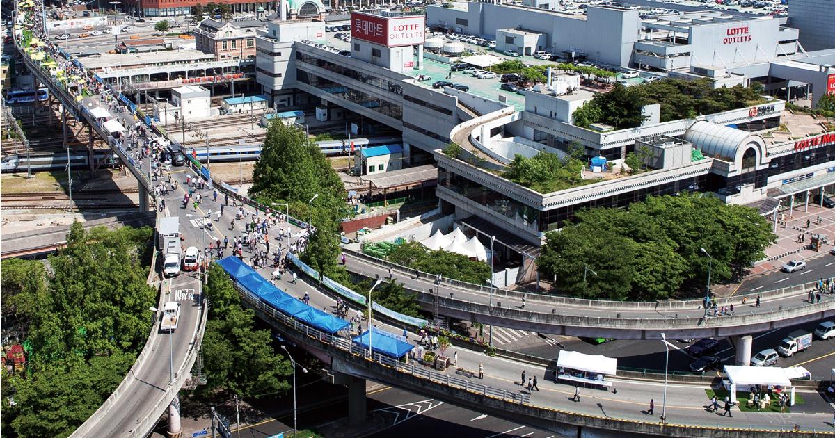 서울역 7017 명소